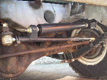 Series Land Rover axle