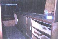 Interior Land Rover Series 3