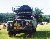 Series 3 Land Rover Carawagon